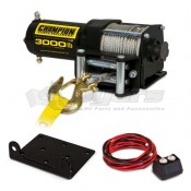 Champion Power Equipment 3,000 lb. ATV/UTV Winch Kit