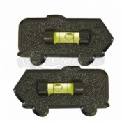 Prime Products Black Motorhome Stick-On Level