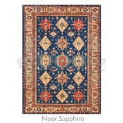 Ruggable 5' x 7' Noor Sapphire Polyester Two Piece Rug System