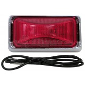 Peterson #150 Red Sealed Clearance Marker Light Kit