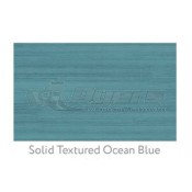 Ruggable 3' x 5' Solid Textured Ocean Blue Polyester Two Piece Rug System