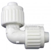"Elkhart Supply Flair-It Fresh Water 1/2"" x 1/2"" Elbow Coupling Fitting"