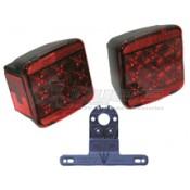 Peterson #840 Piranha LED Rear Trailer Light Kit