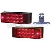 Peterson #856 Piranha LED Rear Trailer Light Kit