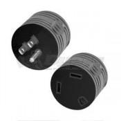 TRC 15 Amp M to 30 Amp F Reverse Plug Adapter