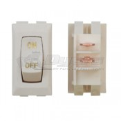 Diamond Ivory Labeled Interior On/Off Switch