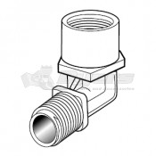 Thetford 19617 Aria Deluxe Toilet Water Connection Fitting