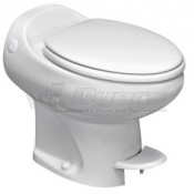 Thetford Aria Classic White High Profile Foot Flush with Water Saver Toilet