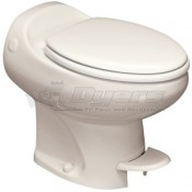 Thetford Aria Classic Bone High Profile Foot Flush Toilet