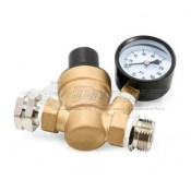 Camco Adjustable Brass Lead Free Water Pressure Regulator