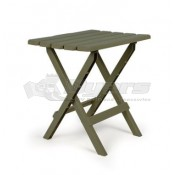 Large Adirondack Table Plastic Sage in Color