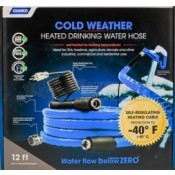 Camco 12' Heated Drinking Water Hose