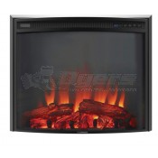 """Lippert Components 26"""" Curved Fireplace Insert"""