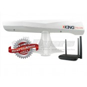 King Falcon White Directional WI-FI Antenna