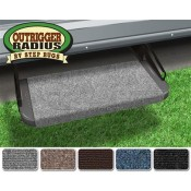 "Prest-O-Fit Castle Gray 18"" Outrigger RV Step Rug"