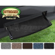"Prest-O-Fit Black Onyx 22"" Outrigger Wraparound Radius XT RV Step Rug"