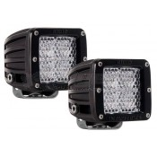 Rigid Industries D-Series Pair Dually LED Diffused Light