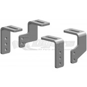 PullRite Universal Mounting Kit for PullRite Heavy Duty Industry Standard Hitch