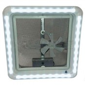 Hengs White LED Vent Light Trim Kit