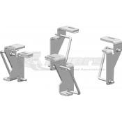 PullRite Industry Standard Custom Mounting Bracket Kit for Dodge 2003-2012: 2500 & 3500
