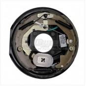 """Lippert Components 10"""" x 2-1/4"""" Left Hand 3.5K Forward Self-Adjusting Brake Assembly; 4-Bolt Mount"""