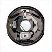 "Lippert Components 10"" x 2-1/4"" Right Hand 3.5K Forward Self-Adjusting Brake Assembly; 4-Bolt Mount"