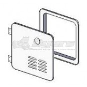 Girard New Generation Hinged Door/Flange Assembly for a New Installation or a 6 Gal Suburban Retrofit