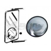 "Prime Products 3-3/4"" Stick On Blind Spot Helper Mirror"