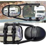 Prime Products Dual Head XLR Ratchet Clip-On Mirror