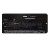Safe-T-Alert Black Flush Mount Classic LP Gas Alarm