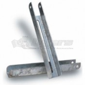 "Boat Trailer Bunk Bracket - 12-5/8"" x 1-3/4"""