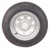 Load Star ST-5.30 x12 LRC Tire & 5 Hole Galvanized Wheel