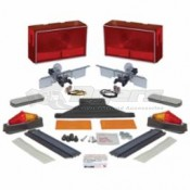 Dry Launch Boat Trailer Universal Lighting Kit
