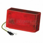 Wesbar Submersible Taillight Assembly - Curbside, 7-Function