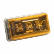 Wesbar Waterproof LED Clearance/Side Marker Light - Amber