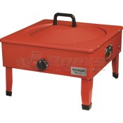 Suburban Voyager 54,000 BTU Fire Pit in Red