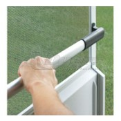 Camco Black Sturdy Screen Door Push Bar