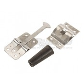 "RV Designer 3-3/4"" Stainless Steel Door Holder"