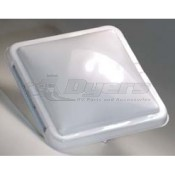 Ventline White Replacement Cover for Ventadomes and Elixir Vents