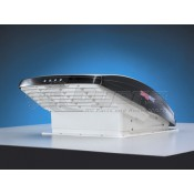 MAxxAir Smoke Auto Opening MAxxFan Roof Vent with Remote