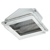 "Ventline Polar White 2-1/8"" Vent Garnish"