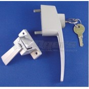 Strybuc Locking Push Button Door Handle
