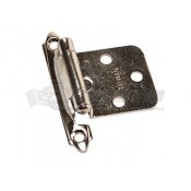 RV Designer Nickel Self-Closing Hinge