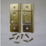 BRD Brass Non-Mortise Butt Hinge **ONLY 3 AVAILABLE**