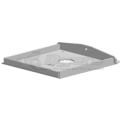 "PullRite Capture Plate for SuperGlide Hitches for Fabex Model 500s, 765, 770 Pin Boxes that are 13-1/2"" Wide"