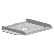 "PullRite Demco  10-3/4"" Wide Capture Plate for SuperGlide Hitches"