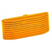 Bargman Amber Replacement Lens for 78 Series Porch Lights