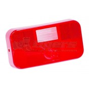 Bargman #92 Series Surface Mount Taillight with Back-Up Replacement Lens