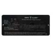 Safe-T-Alert Black Flush Mount 35 Series CO/LP Gas Alarm