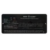 Safe-T-Alert Black Flush Mount 35 Series CO/LP Gas Alarm